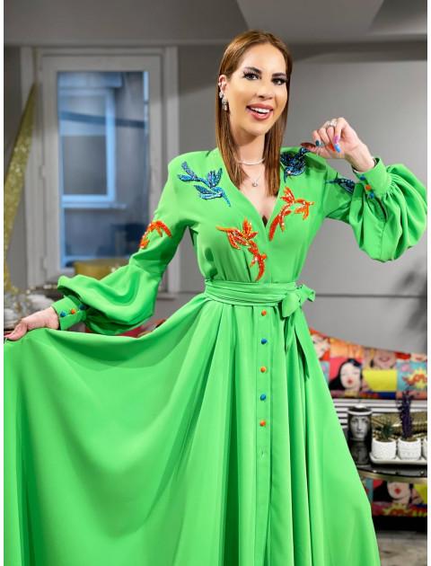 Green Love Dress