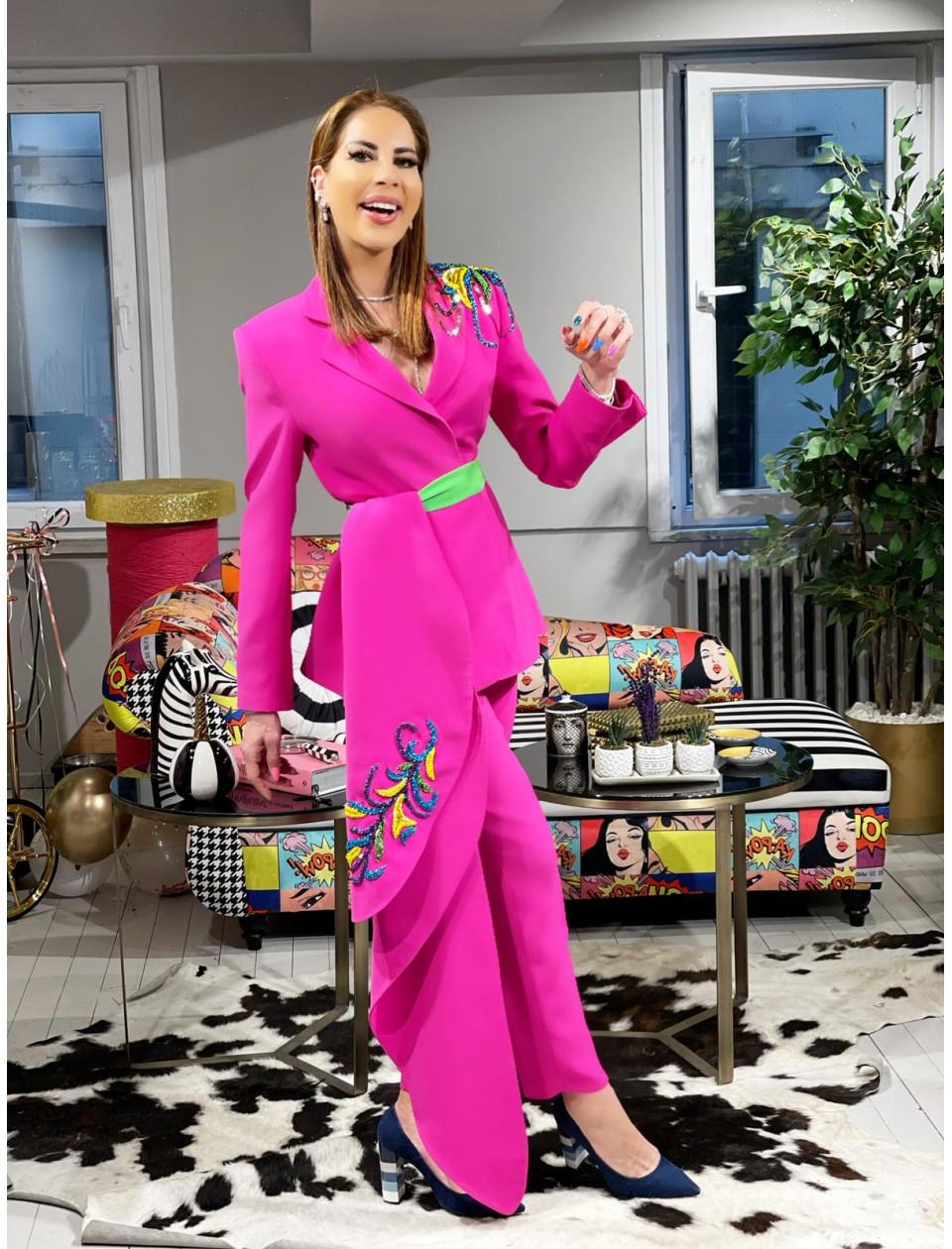 Pink Estrella Pants