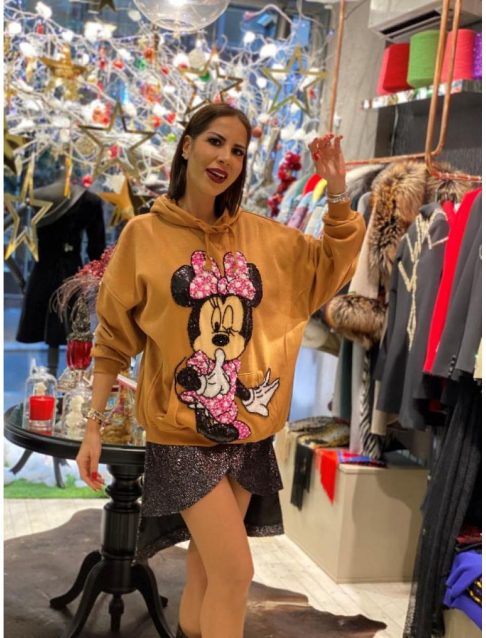 Pink Minnie Sweatshirt