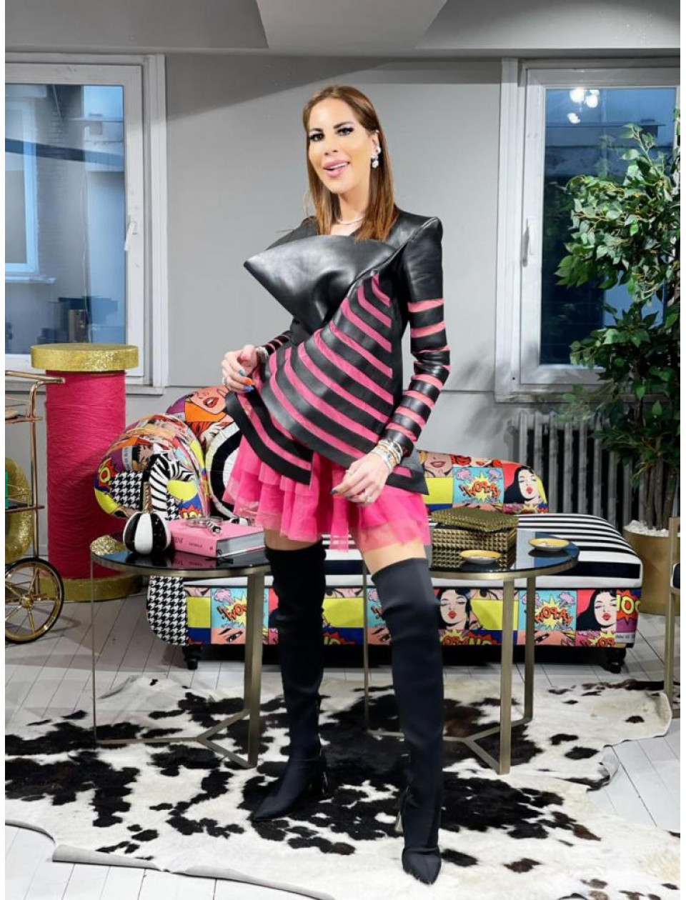 Pandora Pink Skirt
